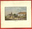 AA08 Ancienne Reproduction De Gravure Weiss 1829,Commune De Longirod. Pied Du Jura,Canton De Vaud, Suisse. - Estampes & Gravures