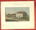AA13 Ancienne Reproduction De Gravure Weiss 1829,Commune De Gland, Canton De Vaud, Suisse. - Estampes & Gravures