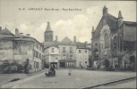 POITOU-CHARENTE - 79 - DEUX SEVRES - AIRVAULT - Place Saint Pierre (Petit Attelage De Chiens) - Airvault