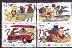 PGL L0772 - TONGA Yv N°681/84 ** - Tonga (1970-...)