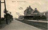 Eghezee - Interieur De La Gare Feldpost - Eghezée