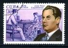 Francob. Singolo - CUBA - J.RAUL  CAPABLANCA - TIMBRATO -senza Gomma - Senza Traccia Linguella. - Altri