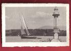 B824 Genève Le Phare Barque à Voiles.Non Circulé  Jullien 5854 - GE Geneva
