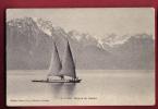 B837 Barque Du Léman,petite Animation.Cachet 1906.Jullien 6369 - VD Vaud