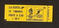 France, 2715-C4a, Numéroté, Confectionneuse 8, Carnet Neuf, Non Ouvert, TTB, Albertville 92, Carnet Marianne De Briat - Carnets