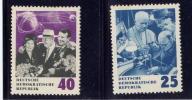 DDR, 1964 #693-94, NIKITA S. KHRUSHCHEV : PREMIER SOVIET UNION, M NH - [6] République Démocratique