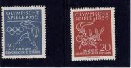 DDR, 1956 #307-08, 16 Th OLYMPICGAMES IN MELBOUNE, M NH - [6] République Démocratique