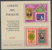 PARAGUAY1970 Stamp On Stamp S/S ROWLAND HILL, JFK, ZEPPELIN SCARCE S/S VF MNH ** Neuf - Paraguay