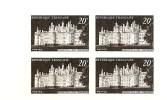 N° 924 épreuve En Noir Bloc De 4 Issue De Poinçons Originaux Conservés Au Musée De La Poste Net 5.50 € - Prove Di Lusso