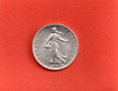 RARE EN CET ETAT---1 FRANC SEMEUSE ARGENT 1920---ETAT : SPL++ - H. 1 Franc