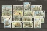 Falkland Islands 1989-90 N° 500 / 14 + 529 ** Bateaux, Voiliers, Cap Horn - Falklandeilanden