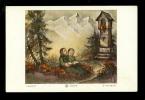 Devotieprentje ( 6761 )   Illustrateur  Hummel - Devotion Images
