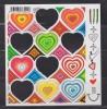 = Le Feuillet Support Des Timbres X5 Saint Valentin Maurizio Galante -20g N°4528 - Autres