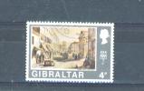 GIBRALTAR  -  1971  Decimal Currency  Views Definitives  4p  FU - Gibraltar