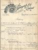 HAMBURG  SPRENGSTOFF A. G. CARBONIT   7.11.1908 - Non Classés