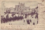 MALINES = Souvenir De M.... = La Grand'Place Et L'ancienne Halle Aux Draps + Cavalerie - Malines