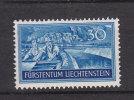 LIECHTENSTEIN 1937  N°124  NEUF*  CATALOGUE ZUMSTEIN - Liechtenstein