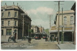 Wellington, Cuba Street Color Tramway, Tram P. Used 1909 To Belgium - Nouvelle-Zélande