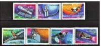 TANZANIE:  1709/15 + BF 250  Recherche Spaciale (neuf Sans Charniere)** - Tanzanie (1964-...)