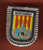 17608-blason De Montserrat. Broche.epinglette. . - Villes