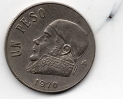 Mexico 1 Peso 1970 Coin KM# 460 Circulated - Mexico
