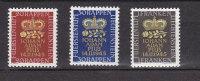 LIECHTENSTEIN 1945     N°  207 à 209   NEUFS*  CATALOGUE ZUMSTEIN - Liechtenstein