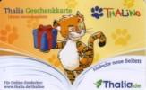 Germany - Allemagne - Thalia Book Store - Tiger - Carte Cadeau - Carta Regalo - Gift Card - Geschenkkarte - Frankreich