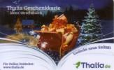 Germany - Allemagne - Thalia Book Store - Christmas - Xmas  - Carte Cadeau - Carta Regalo - Gift Card - Geschenkkarte - Frankreich