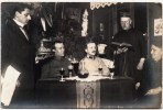 REAL PHOTO MAHLZEIT MILITARIA PRIESTER GENERALE  KRIEG DEUTSCHLAND MILITARIA WAR GUERRE