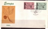Belgium, 1965. Europa - Cept,  FDC, - FDC