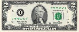 Stati Uniti 2 Dollari 2003 Serie Nuova UNC Thomas Jefferson United States Vedi Foto - Etats-Unis