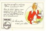Cp/pk Publicitaire Kaart Philips Super Arlita 1939 Reclame Van Der Meulen Gand Lumière N'est Pas Cher - Advertising