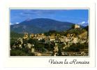 {34432} 84 Vaucluse Vaison La Romaine , La Haute Ville Et Son Château , Dominés Par Le Mont Ventoux - Vaison La Romaine