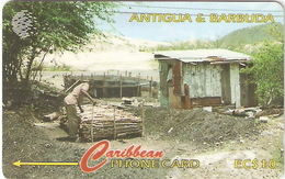 *ANTIGUA & BARBUDA: 97CATC* - Scheda Usata - Antigua And Barbuda