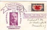 1938 National Air Mail Week  Hammondsport NY  Cover - Air Mail