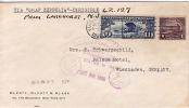 1928  Zeppelin Cover To Germany - Air Mail