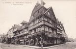 Lisieux - Grande Rue Et Place Victor Hugo, Shops On Street Corner, Early Postcard - Basse-Normandie