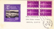 1939  Golden Gate International Ex.  Sc 852 Block Of 4  Henry Ioor Cachet - First Day Covers (FDCs)