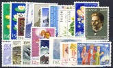 #A499. Iceland 1977-97. 20 Different. MNH(**) - Collections, Lots & Séries