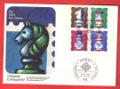 ALLEMAGNE 1972 Echecs Echec Chess FDC - Scacchi