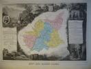 -Levasseur-1866-Carte Géographique Des Basses Alpes- - Mapas Geográficas