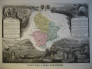 -Levasseur-1866-Carte Géographique Du Département Des Alpes Maritimes- - Mapas Geográficas