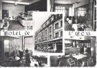 -- 03 -- MONTLUCON -- L'HOTEL DE L'ECU --***  CARTE PHOTO -- MULTIVUES -- - Montlucon