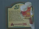 Bierviltje Sous-bock Bier Bière Hougaerdse Das Hij Is Terug - Beer Mats