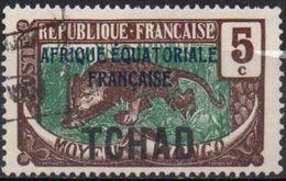 TCHAD  N°22b__OBL VOIR SCAN - Tchad (1922-1936)
