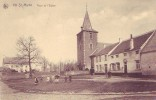 NIL ST MARTIN = Top Cp = Place De L'église - Carte Animée  (Nels   N° 23) Vierge - België