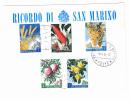 18.4.1962  -  Sonderbeleg   -  Siehe Scan  (san Mar 2001-2011) - Briefe U. Dokumente