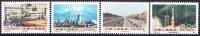 China 1991 Yvert 3080 / 83, Great Constructions Of Popular China (IV), MNH - Neufs
