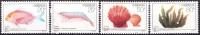 China 1992 Yvert 3111 / 14, Marine Fauna And Plants, MNH - Neufs