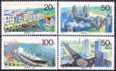 China 1996 Yvert 3409 / 11, City Of Tangshan After Earthquake Of 1976, MNH - 1949 - ... République Populaire